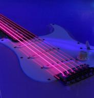 Struny Bass DR NEON zielone/pomarańcz