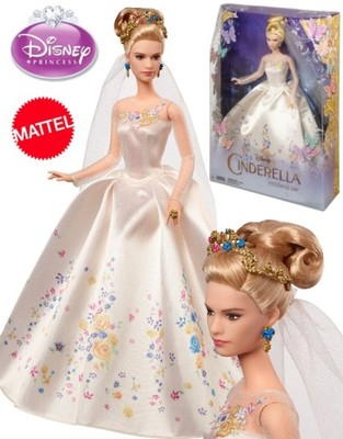 Mattel Lalka Barbie Kopciuszek W Sukni ślubnej 6638820391