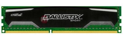 Pamięć Crucial Ballistix Sport DDR3 8GB 1600 mhz