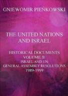 The United Nations and Israel. Historical Document