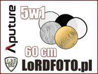 Okrągła blenda 5w1 dyfuzor + pokrowiec 60cm