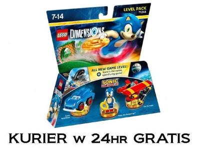 Lego Dimensions 71244 Sonic Level Pack W 24hr 6670044496