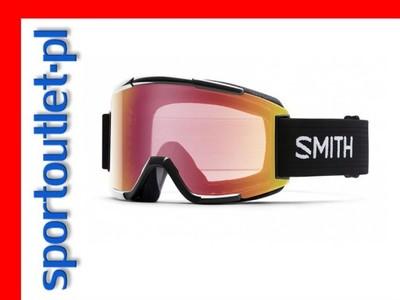 Gogle Smith Squad Black Red Sensor Mirro+RC36