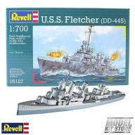 Model do sklejania REVELL - U.S.S. Fletcher (DD-44