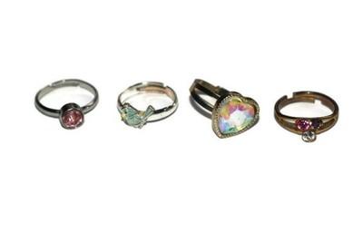 1433576c4b41e0 Piękne pierścionki z oczkami 4 sztuki. - 7003730690 - oficjalne ...