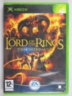 THE LORD OF THE RINGS THE THIRD AGE    XBOX BDB!