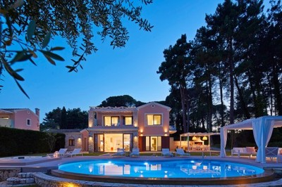 Luksusowa willa na 8 osób, wyspa Korfu, Grecja