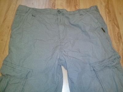 Spodnie bojówki męskie Cropp jak nowe XL-XXL