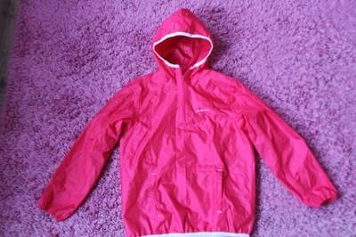 Quechua kurtka przeciwdeszczowa dla dziewczynki