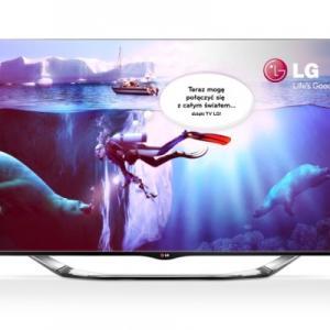 Telewizor LG 55'' 3D LED 55LA860V 24h F-Vat