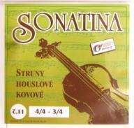 Struny skrzypcowe violin do skrzypiec 3/4 4/4 MED.