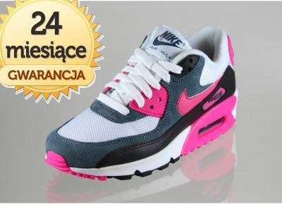 Różowe Sneakersy damskie marki Nike Air Max kupuj tanio z