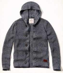 SWETER * HOLLISTER by Abercrombie XL * GRUBY