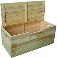 Kufer skrzynia pojemna drewniana Blinky A8H279