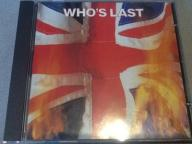 The Who Who's Last LIVE CD first edition