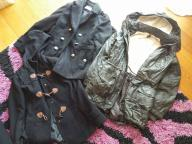 Paka/paczka ubrań, kurtki, płaszcze, spodnie 55szt