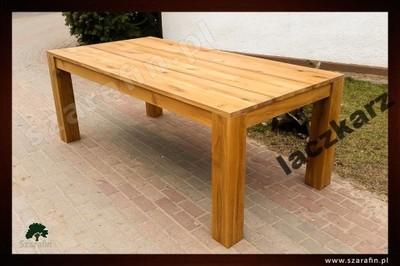 Dębowy stół, lity dąb 180/85