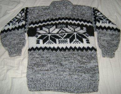 e172fbe6a651 sweter wełniany góralski M L folk - 6565654544 - oficjalne archiwum ...