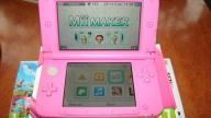 NINTENDO 3DS XL PINK + 4 GRY SUPER MARIO 2, ANIMAL
