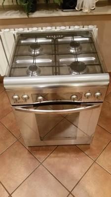 Kuchnia Gazowo Elektryczna Mastercook Kge7340x Fut