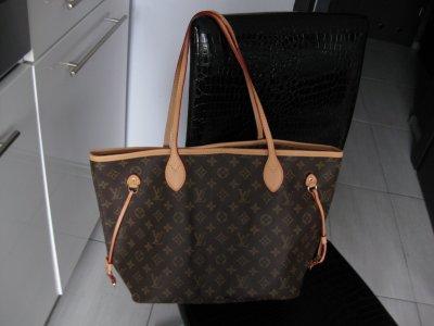 c7f9856c1b4cf Torebka Louis Vuitton Neverfull Epi skóra MM - 6586089299 ...