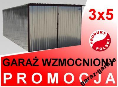 Budowa Blaszak 3x5 Garaż Blaszany Na Budowę Mocny 5992869328