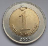 2005r. - Turcja - 1 Lira