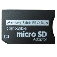 Adapter PSP Memory Stick PRO DUO / micro SD do32GB