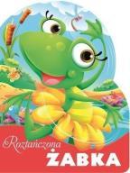 Wykrojnik. Roztańczona żabka