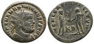 000645 | Maksymian Hercules (286-310), antoninian