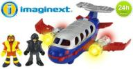 FISHER PRICE IMAGINEXT JUMBO JET SAMOLOT 24h