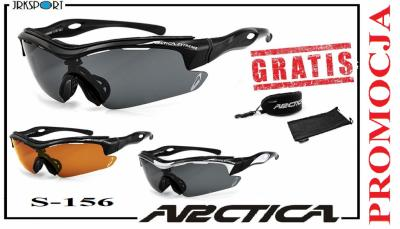 ARCTICA S156 okulary sportowe POLARYZACJA UV400