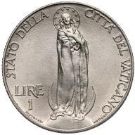 304. Watykan 1 lir 1931 st.1-