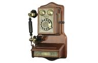 Telefon Castel A1907, retro, obrotowa tarcza
