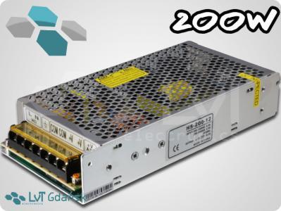 Zasilacz modułowy LED 12V 200W 16A TAŚMA LED FV
