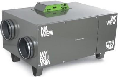 OXY Rekuperator Thesla AirPack 850h montaż projekt