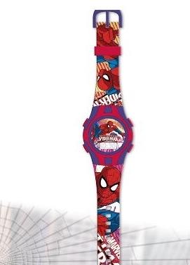 piękny zegarek cyfrowy SPIDERMAN NOWOŚĆ