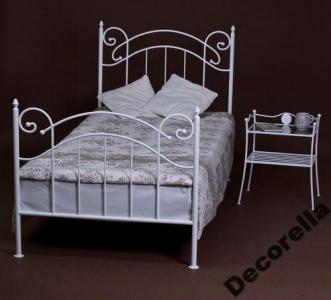 łóżko Metalowe Julia 80x180 Kute 15 Kol Promocja