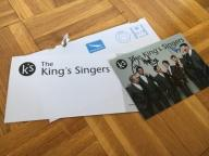 Oryginalne Autografy - The Kings Singers