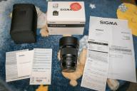 Sigma A 20 mm f1.4 DG HSM Canon EF EF-S linia ART