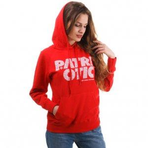 patriotic czerwona bluza