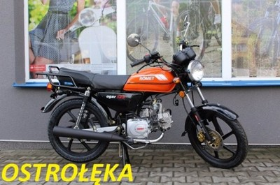 Nowy Motor Romet Ogar 125 Ostroleka Raty 6744058821 Oficjalne Archiwum Allegro