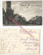 Dzierzgowo, plac przed Kościołem, obieg 1915