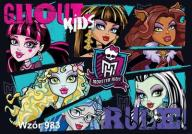 Fototapeta Monster High  XXL