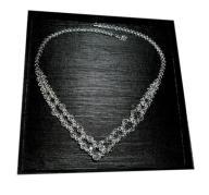 Naszyjnik krystaliczny Swarovski na ślub s330