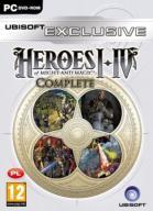 HEROES I - IV wszystkie części I II III IV NOWY!
