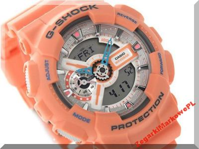 99544459f3ff46 ZEGAREK CASIO G-SHOCK GA-110DN-4AER SALON KRAKÓW! - 5985610562 ...