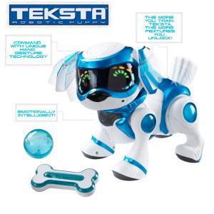 Teksta Robotic Puppy Robot Szczeniaczek Niebieski 4227746490 Oficjalne Archiwum Allegro