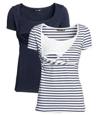 062f2b7582a400 H&M MAMA bluzka T-shirt do karmienia r.38/M - 6689802747 - oficjalne ...