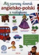Mój pierwszy słownik angielsko-polski z naklejk